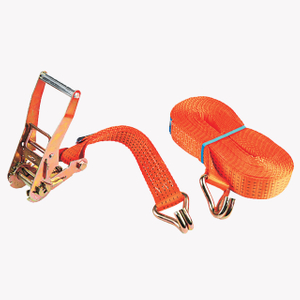 50mm 5T Cargo Lashing Strap Double J hook