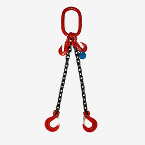 2 Legs Lifting Chain Sling - Clevis Hook - G80